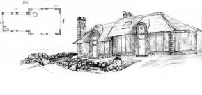 Шашлычный домик