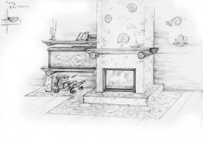 Отопление от камина